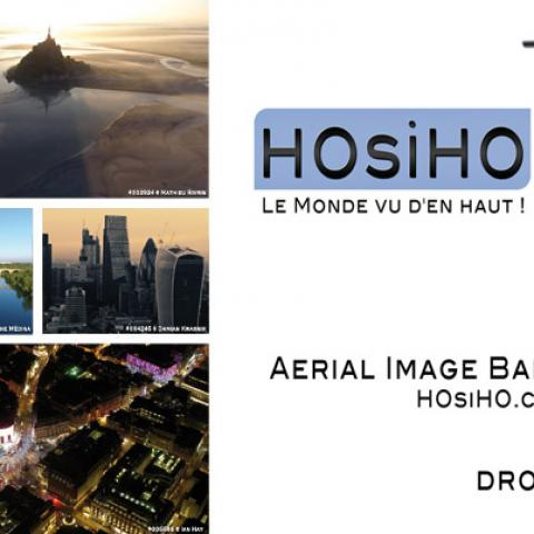COVID-19, the HOsiHO agency has put together an audiovisual collection of more than 4000 aerial videos on confined cities