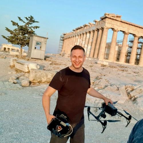Damian Kwasnik Inspire 2 in Parthenon, Athens, Greece